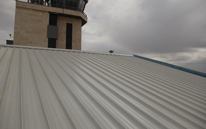 پوشش کالزیپ ترمینال فرودگاه شاهرود